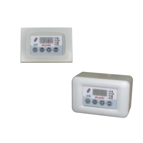 Electronic control units for the interface of biomass generators (technical water + DHW)