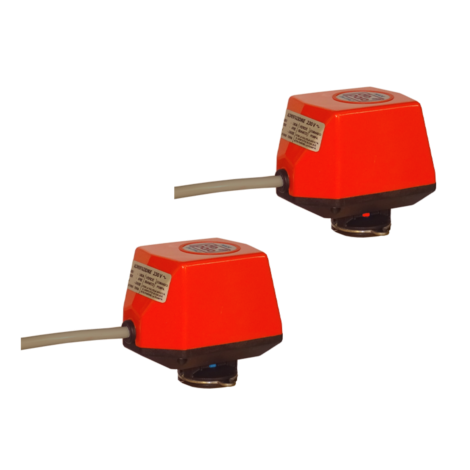 Two normally open/normally closed servomotor kit