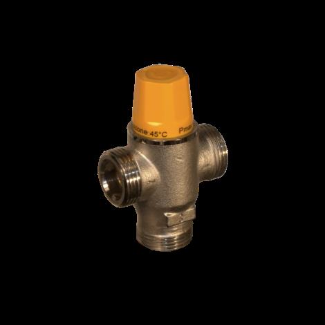 Thermostatic diverter valve
