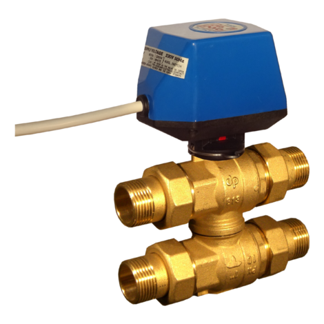 4-way valve with by pass